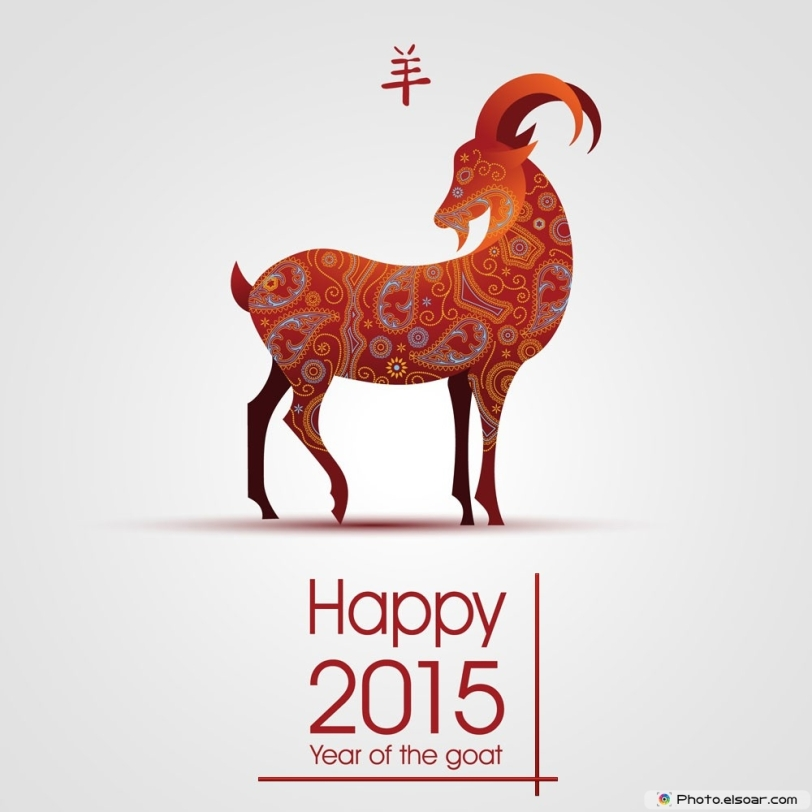 Happy CNY 2015 Goat